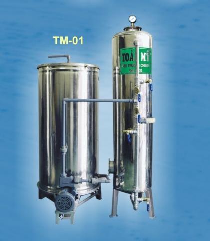 Thiết bị lọc nước giếng khoan Toàn Mỹ  TM - 01